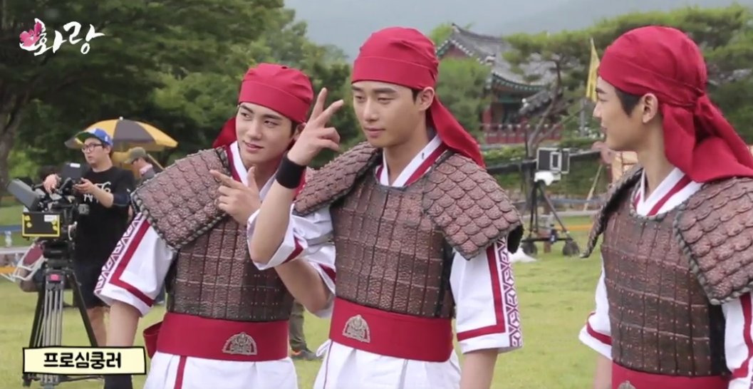 """Watch: """"Hwarang"""" Cast Is All Smiles In New Behind-The-Scenes Video"""