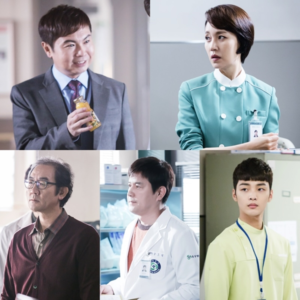 "5 Actors Who Are Stealing The Scene In ""Romantic Doctor Kim"""