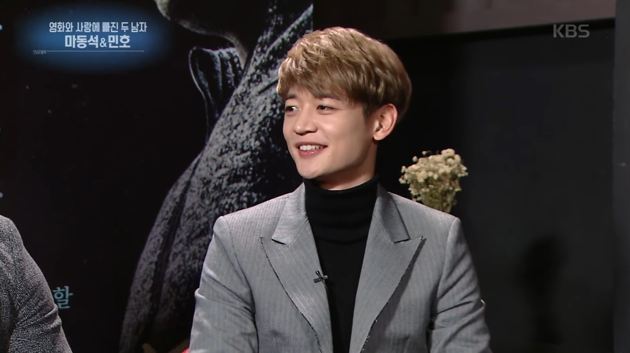 """SHINee's Minho Reveals He Had To Learn How To Smoke For """"Two Men"""""""