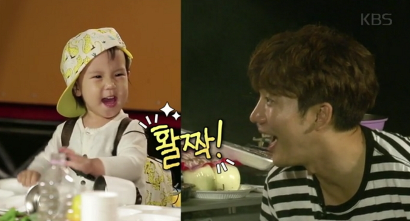 """Rohee's Infectious Laughter Delights The Fathers On """"The Return Of Superman"""""""