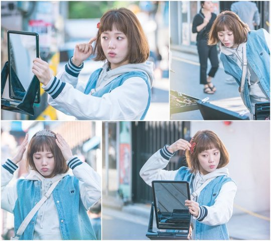 "Lee Sung Kyung Wants To Get All Dolled Up In New ""Weightlifting Fairy Kim Bok Joo"" Stills"