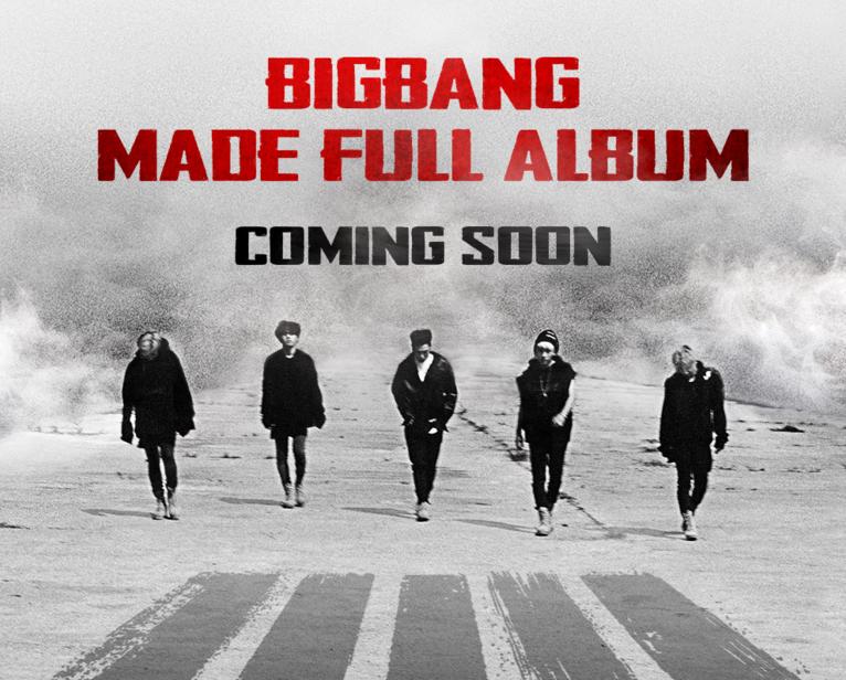 "BIGBANG Reveals A Release Date For ""MADE"" Full Album"