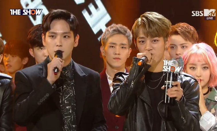"Watch: B.A.P Takes 1st Win For ""Skydive"" On ""The Show"" + Performances By T-ara, UP10TION, And More"
