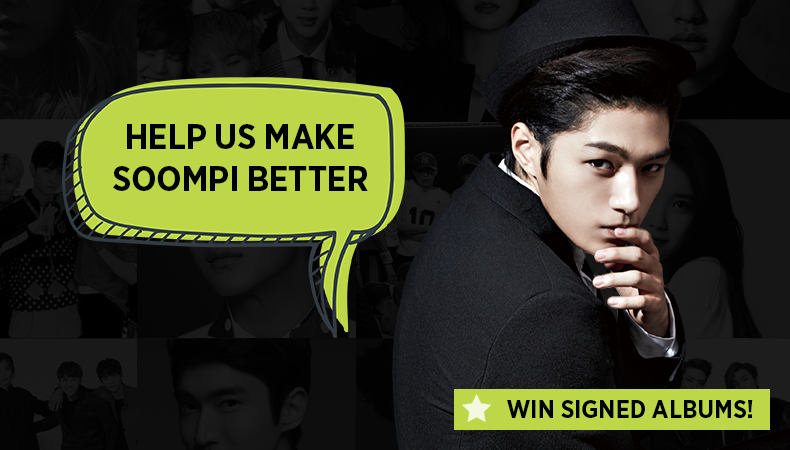Giveaway: Tell Us How We Can Make Soompi Better And Win Signed Albums!