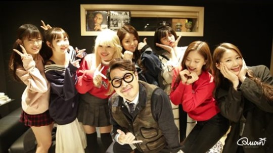 Haha And Oh My Girl Tease Winter Collab Song