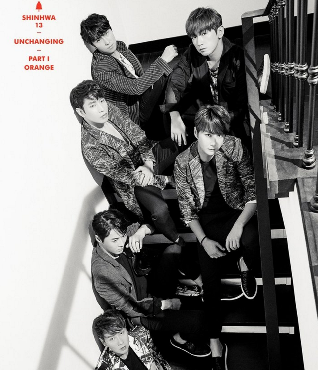 Shinhwa Releases Individual And Group Images For Upcoming 13th Album