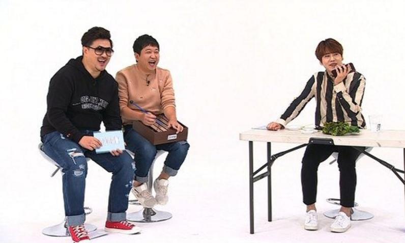 """Kyuhyun Displays His Brotherly Friendship(?) With BEAST's Yoon Doo Joon On """"Weekly Idol"""""""