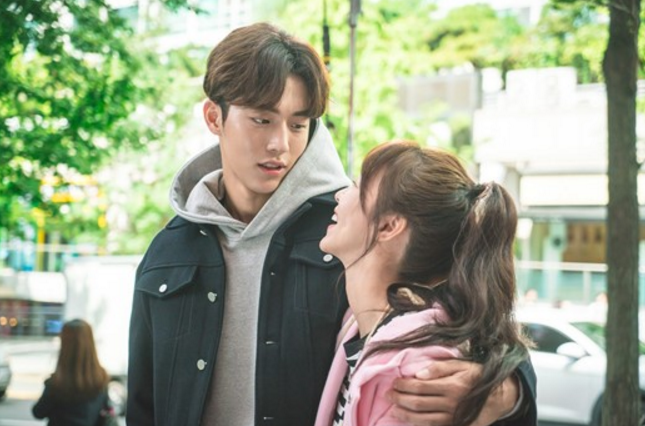 """Weightlifting Fairy Kim Bok Joo"" Reveals Cute Stills Of Nam Joo Hyuk And Kyung Soo Jin"
