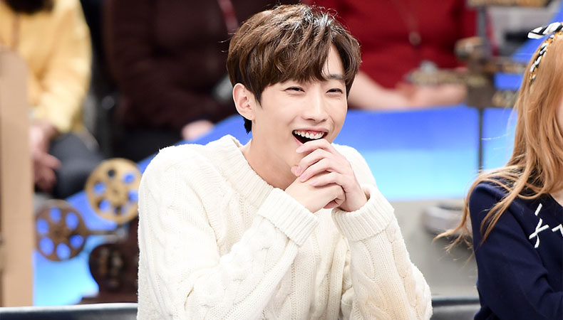 B1A4's Jinyoung Melts Hearts In New Photo With Orphaned Infant
