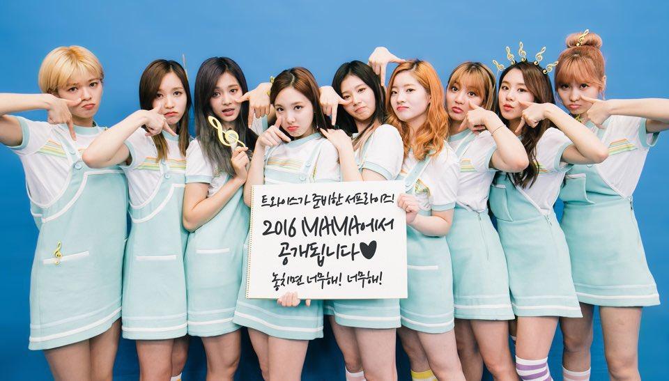 twice preparing surprise stage for 2016 mama soompi