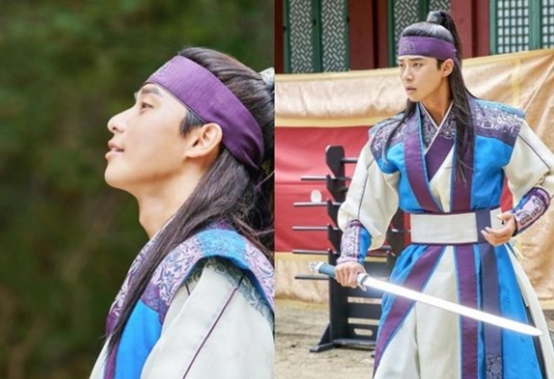 "Park Seo Joon Transforms Into A Flower Warrior For New ""Hwarang"" Stills"