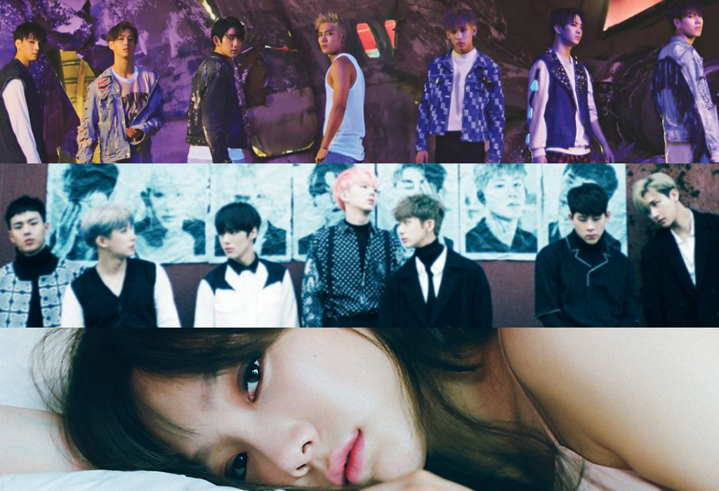GOT7 MONSTA X Taeyeon