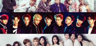 BTS EXO TWICE