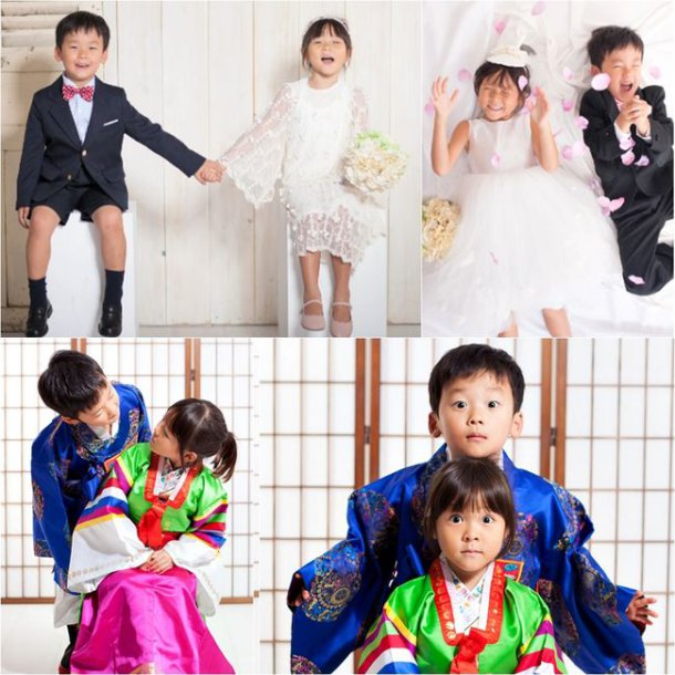 Choo Sarang And Yuto Reunite For World's Cutest Wedding Photo Shoot