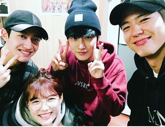 """""""Moonlight Drawn By Clouds"""" Reunites To Support B1A4's Jinyoung"""