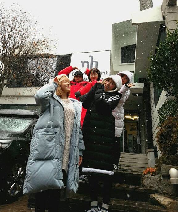 LABOUM Welcomes First Day Of Snow With Message About Possible Comeback