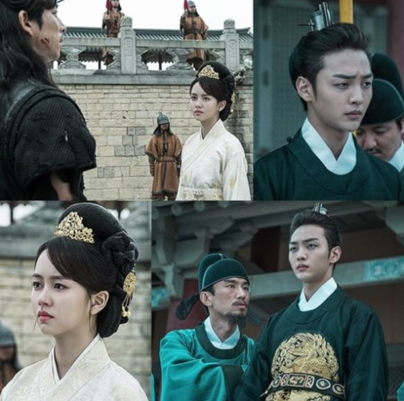 "tvN's ""Goblin"" Releases Regal Stills Of Kim So Hyun And Kim Min Jae"