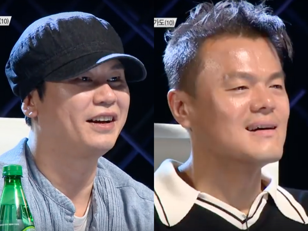 "Yang Hyun Suk And Park Jin Young Can't Help But Disagree Once Again On ""K-Pop Star 6"""