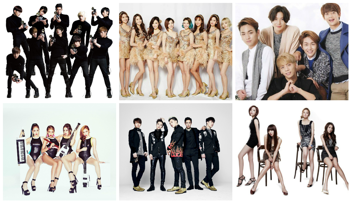 long lasting kpop groups