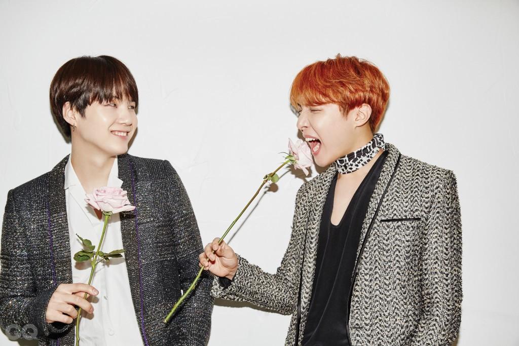BTS Suga J-Hope