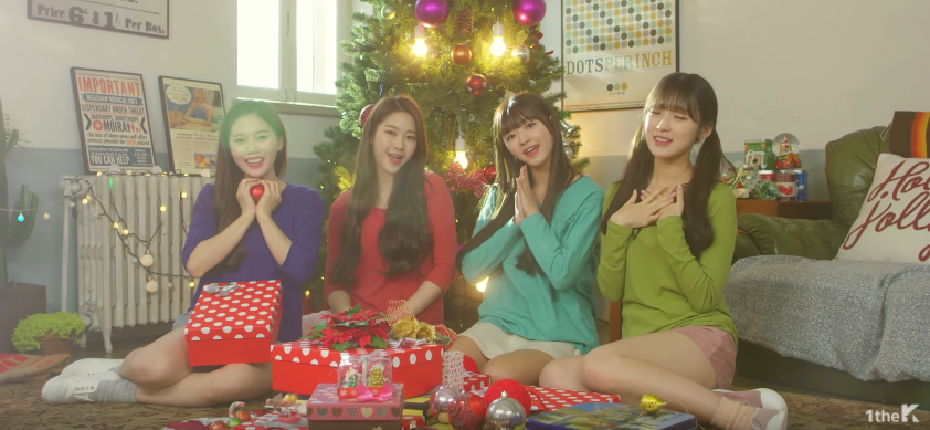 """Watch: HaHa And Oh My Girl Bring The Holiday Cheer In MV For """"White"""""""