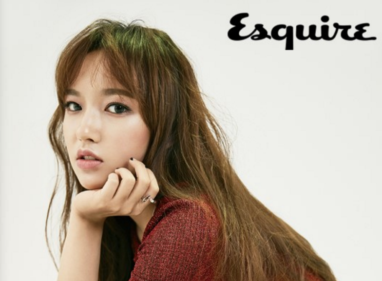 Cosmic Girls' Cheng Xiao Is A Fall Beauty For Esquire Magazine