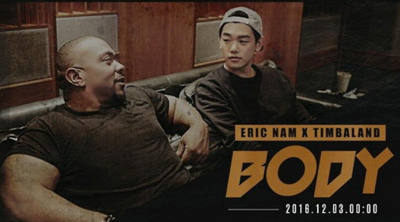 "Watch: Eric Nam X Timbaland Are The Ultimate Collaborative Duo In ""Body"" Making Film"