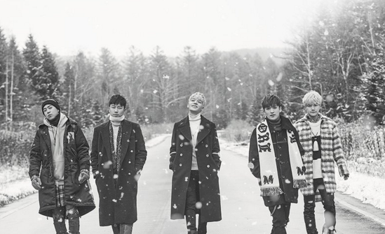 "SECHSKIES Fully Embraces Winter In Group Teaser Image For ""2016 Re-Album"""