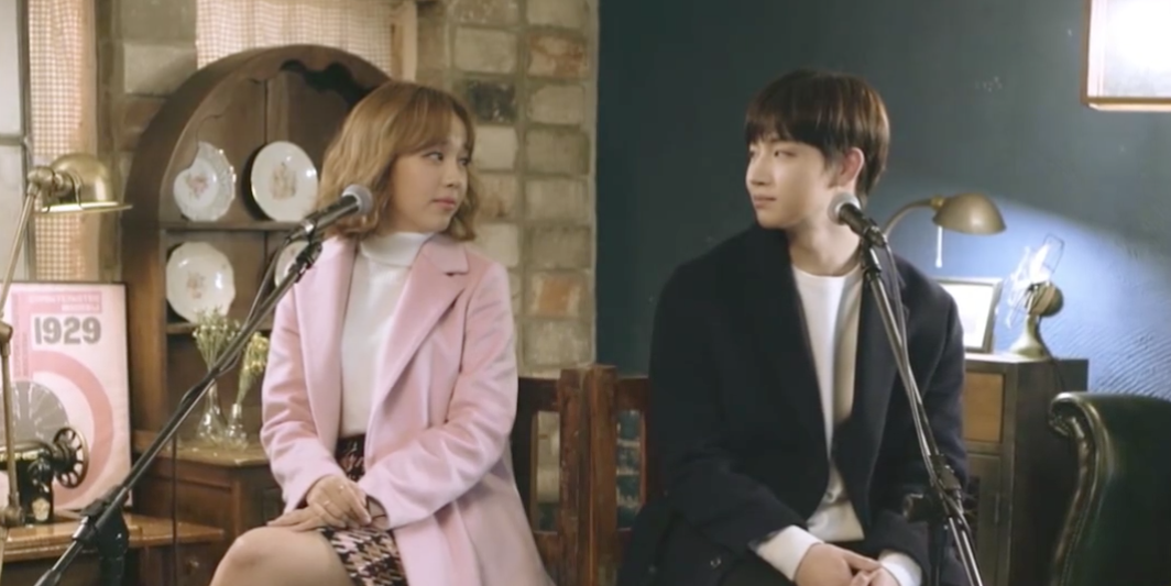 "Watch: Baek A Yeon And GOT7's JB Are A Dreamy Duet In Live MV For ""Just Once"""