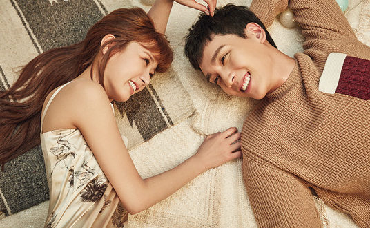 Apink's Bomi And Choi Tae Joon Are Gushing Newlyweds For InStyle