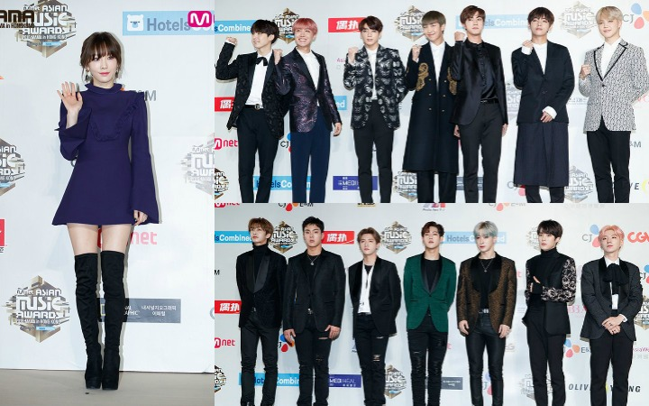 2016 Mnet Asian Music Awards (MAMA) Red Carpet Brings Out All The Best In Fashion