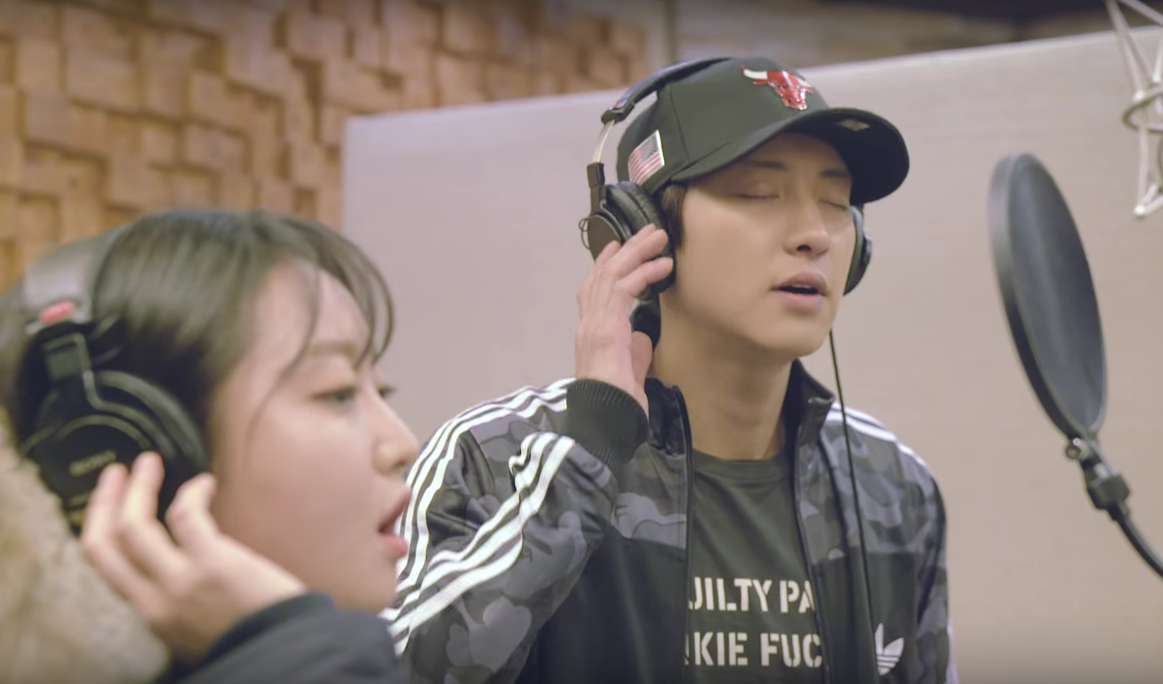 "Watch: EXO's Chanyeol And Punch Sing ""Stay With Me"" For"