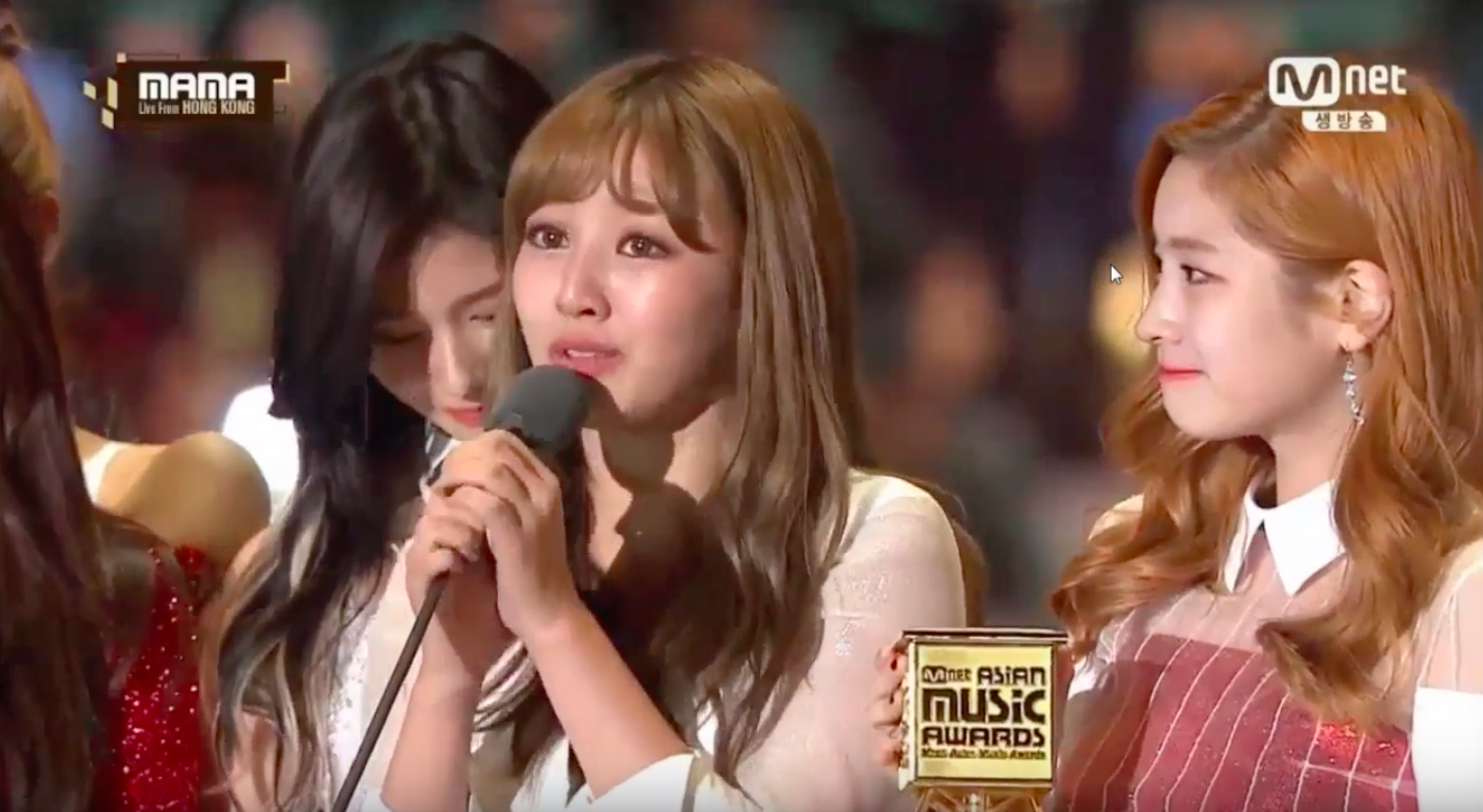 TWICE Wins Song Of The Year At 2016 Mnet Asian Music Awards