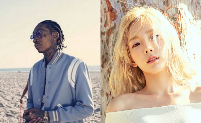 Wiz Khalifa Comments On The Absence Of His Collaboration Stage With Taeyeon At The 2016 MAMA