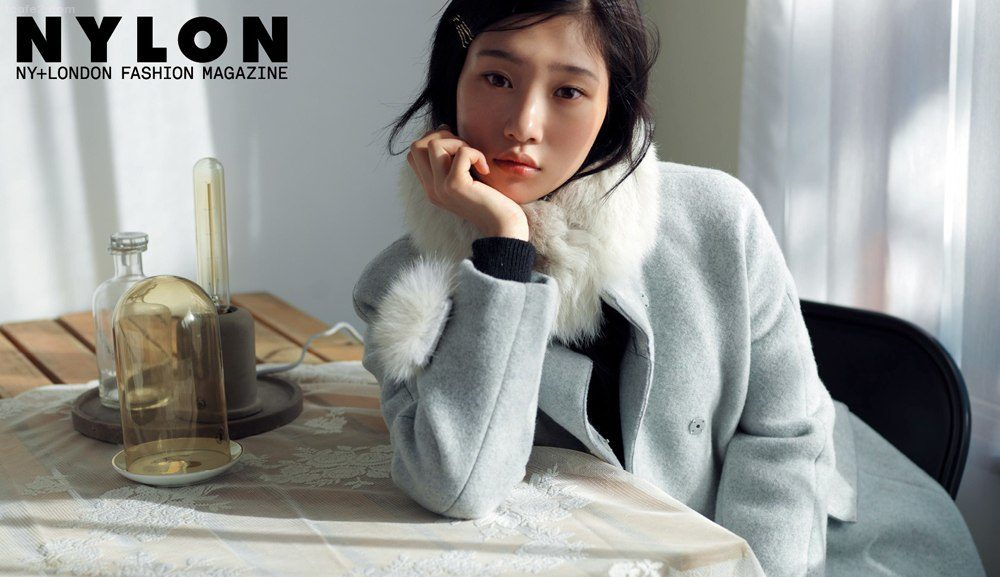 DIA's Jung Chaeyeon Is A Winter Muse For Nylon Magazine