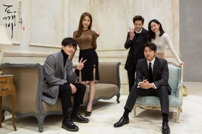 """tvN's """"Goblin"""" Releases Behind-The-Scenes Images From Photoshoot To Help Ease The Wait"""