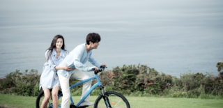 the legend of the blue sea bicycle