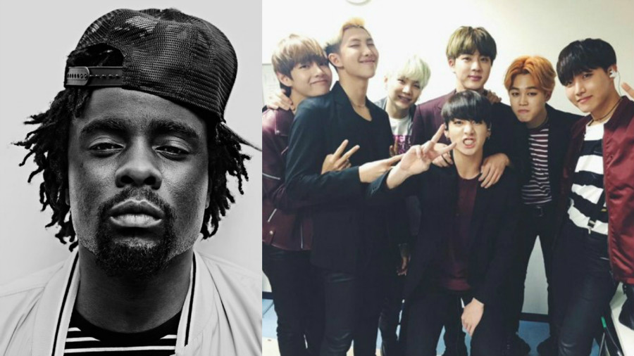 American Rapper Wale Expresses His Love For BTS