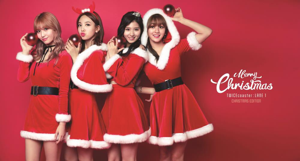 TWICE Releases Festive Teasers For Upcoming Christmas Edition Album