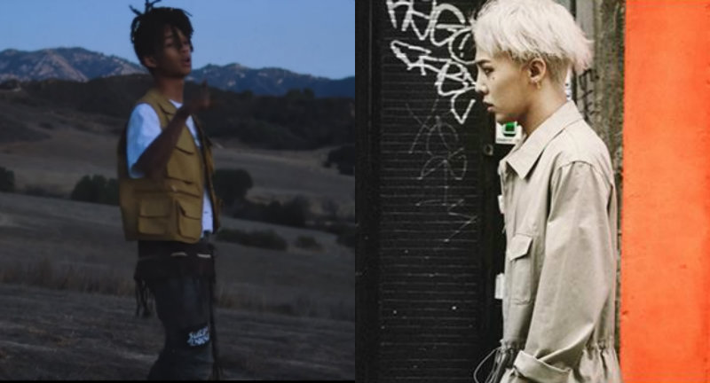 Jaden Smith Calls G-Dragon His Inspiration And We Can't Wait To See What The Two May Bring
