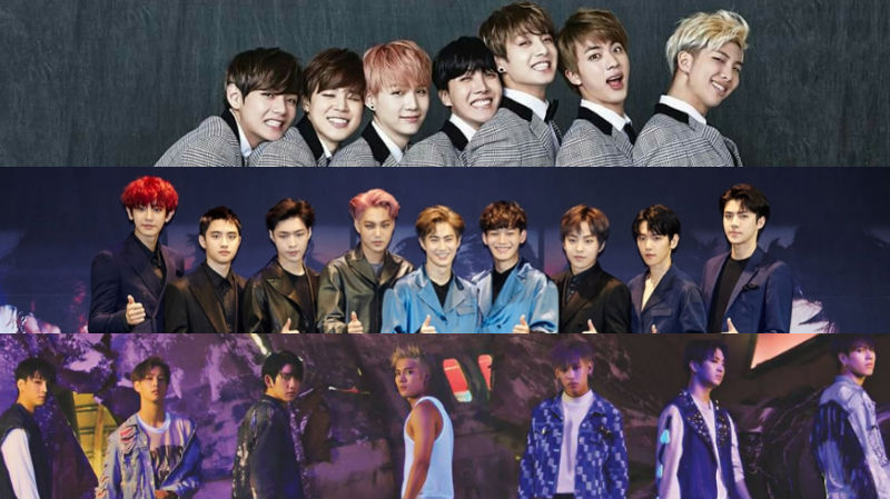BTS EXO GOT7