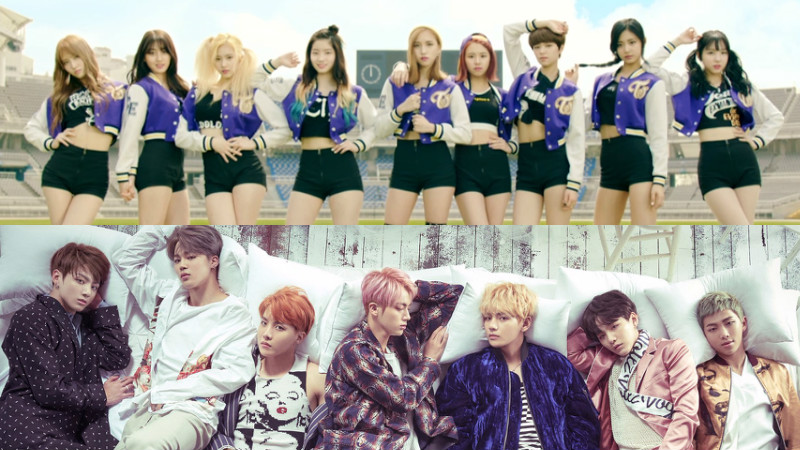 TWICE And BTS Top 2016 Gaon Chart Rankings Preview