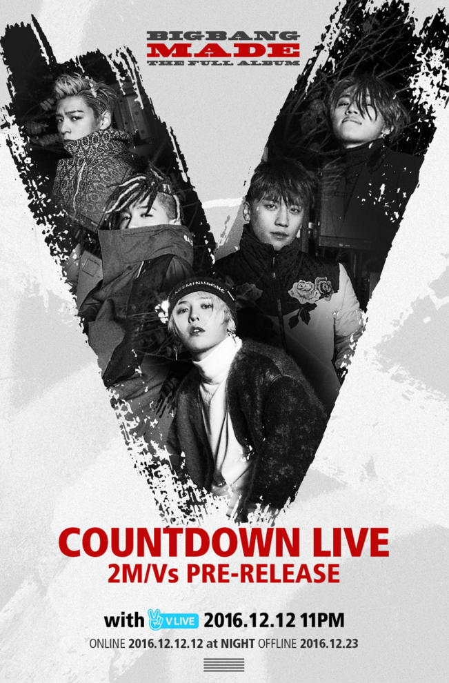 Update: BIGBANG Releases New Poster And Countdown Plans For Upcoming Music Videos