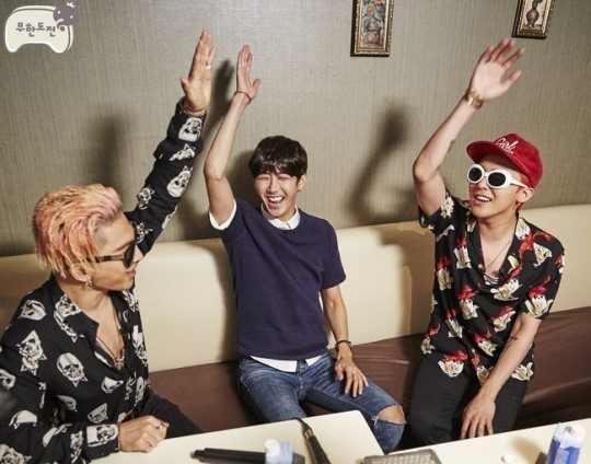 "It's All Laughter And Smiles For BIGBANG On ""Infinite Challenge"""