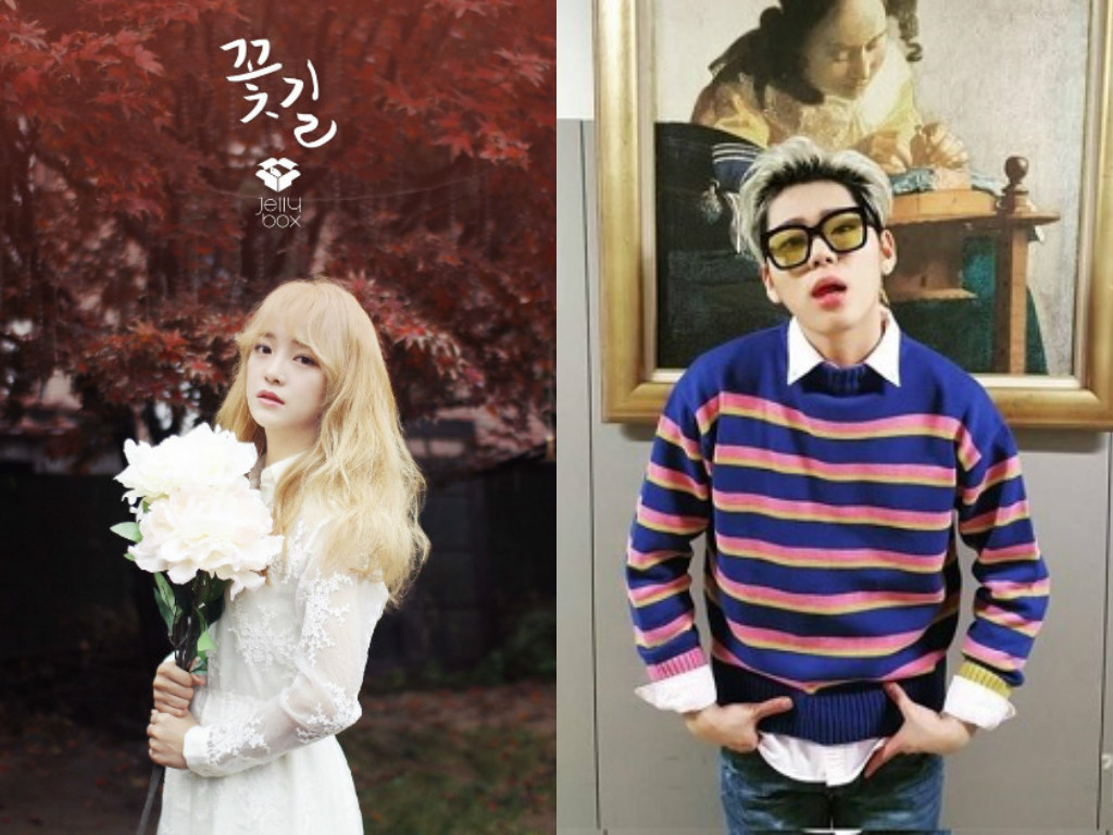 """Kim Sejeong Feels Awkward With Zico After Success Of """"Flower Road"""""""