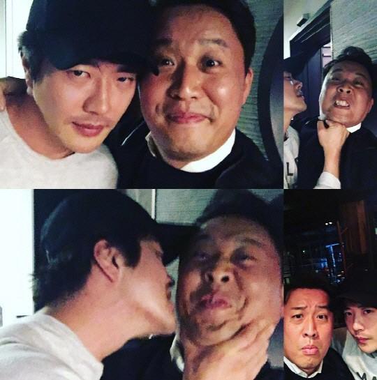 Kwon Sang Woo Jung Joon Ha