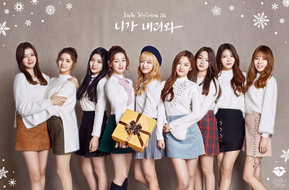 "Update: Jellyfish Entertainment Unveils More Concept Photos For ""Jelly Christmas"" Single"