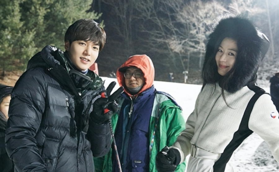 """""""The Legend Of The Blue Sea"""" Takes Us Behind The Scenes With New Photos"""