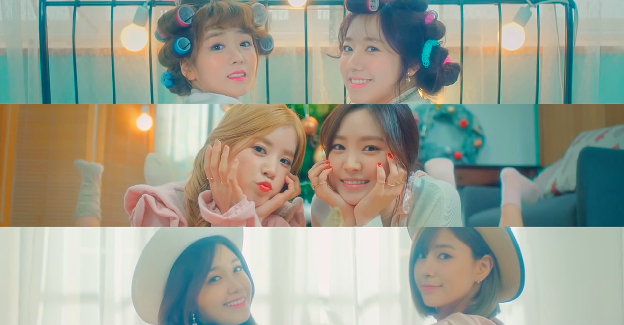 """Watch: Apink Pairs Up In Cute Teaser Video For """"Cause You're My Star"""" MV"""