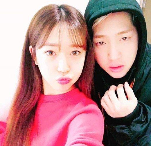 baro and sister cha yoon ji